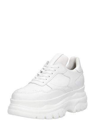 PS Poelman dad sneakers – Wit