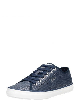 S.Oliver dames sneakers – Blauw