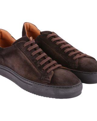 Doucals Doucals Suede Sneakers (bruin)