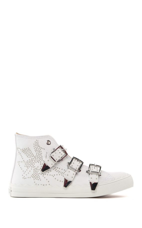 See by Chloé See by Chloé Kyle Semi-shiny Studded Sneakers (Overige kleuren)