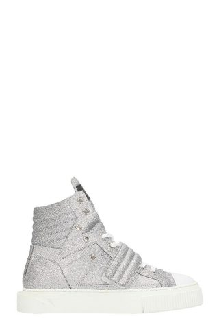 Gienchi Gienchi Hypnos Silver Glitter Sneakers (zilver)
