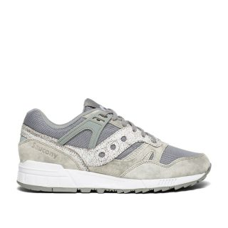 Saucony Grid SD Garden District (grijs/wit)
