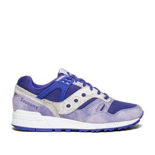 Saucony Grid SD Garden District (paars/wit)