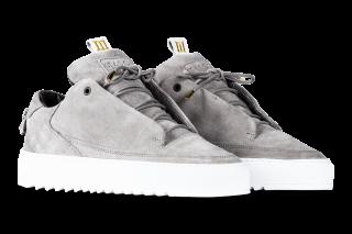 Mason Garments Milano – Suede RAF – Grey (FW18)