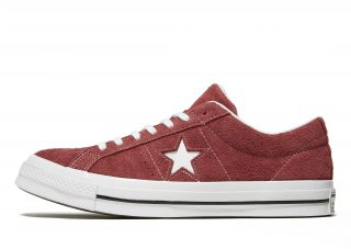 Converse One Star Suede Heren (rood/wit)