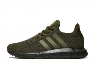 adidas Originals 350 Leather Heren (zwart)