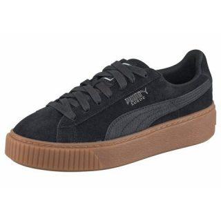 puma-sneakers-suede-platform-animal-zwart