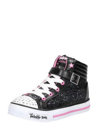 Skechers Shuffles Glitter Girly - Zwart