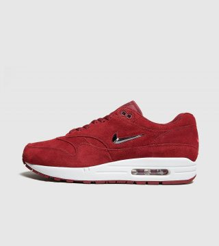 Nike Air Max 1 Jewel Suede (rood)
