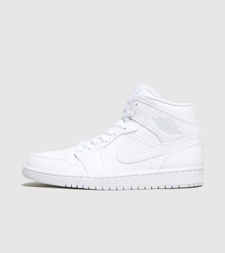 Jordan Air 1 Mid (wit)