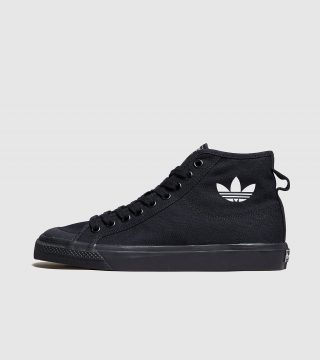 adidas Originals Nizza High Top (zwart)