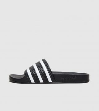 adidas Originals Adilette Slippers Dames (zwart)