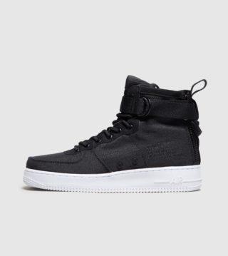 Nike SF Air Force 1 Mid (zwart)