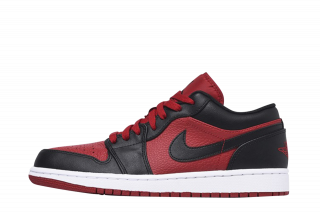 Jordan Air 1 Low (Rood)