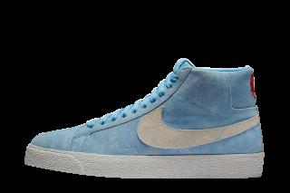Nike Skate Boarding Zoom Blazer Mid (Blauw)