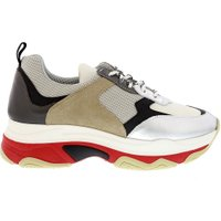 Collection by Marjon Sneakers tr 500/sml taupe grijs