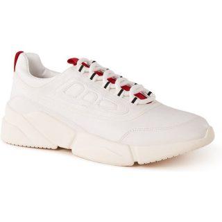MANGO Frey sneaker met contrasterende inzet
