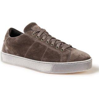 Santoni Gloria sneakers van suède