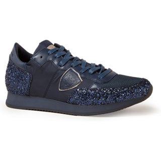 Philippe Model Tropez sneaker met glitter