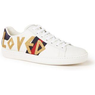 Gucci Ace Loved sneaker van leer
