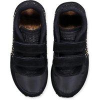 Woden Artikelnummer studded meisjes klittenband sneaker zwart