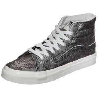 vans-sk8-hi-slim-disco-python-sneakers-dames-zilver