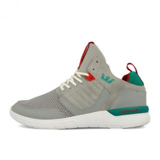 Supra Method Light Grey Teal White