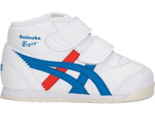 Onitsuka Tiger MEXICO MID-RUNNER TS (wit/blauw)