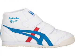 Onitsuka Tiger MEXICO MID-RUNNER PS (wit/blauw)