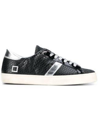 D.A.T.E. Hillow lace-up sneakers (zwart)