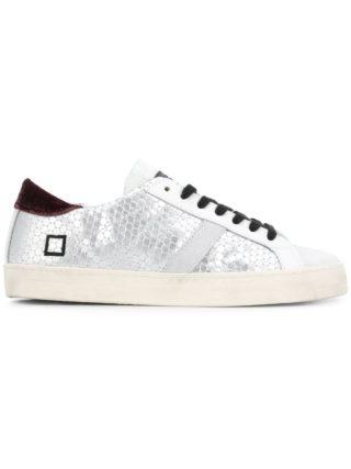 D.A.T.E. Hillow metallic sneakers (grijs)