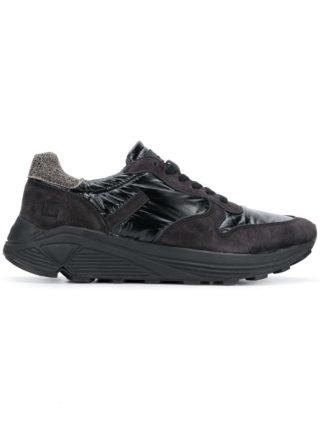 D.A.T.E. chunky sole sneakers (zwart)