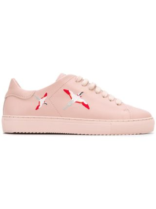 Axel Arigato bird embroidered sneakers (roze/paars)