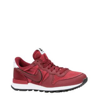 Nike Internationalist Heat sneakers donkerrood (dames) (rood)