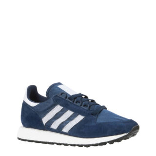 adidas originals Forest Grove suède sneakers donkerblauw (heren) (blauw)