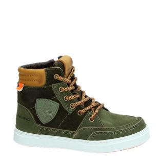 Vingino leren sneakers Mari jongens (groen)