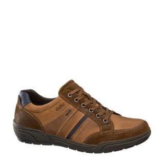 vanHaren – Gallus leren sneakers bruin (heren) (bruin)