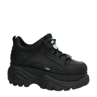 Buffalo leren Chunky Dad sneakers zwart (dames) (zwart)