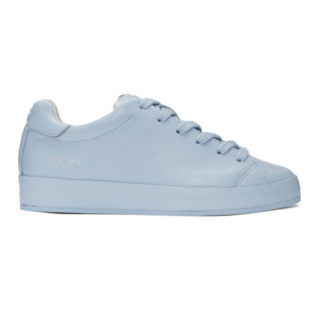 Rag and Bone Blue Perforated Low Sneakers