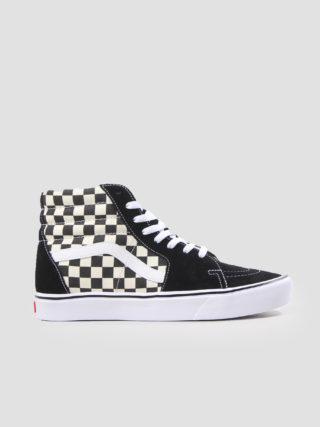 Vans Sk8-Hi Lite Checkerboard Black White Va2Z5Y5Gx (zwart)