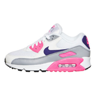 Nike WMNS Air Max 90 (wit/paars/grijs/roze)