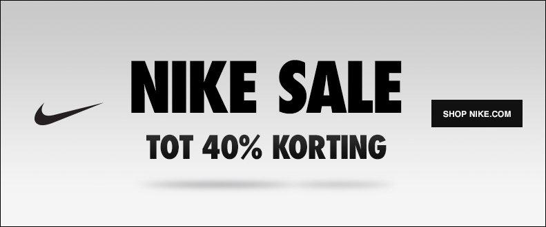 Nike sale : tot 40% korting op veel sneakers