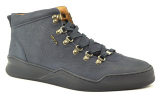 Hinson Allin mid Hiking lizzard (Donker blauw)