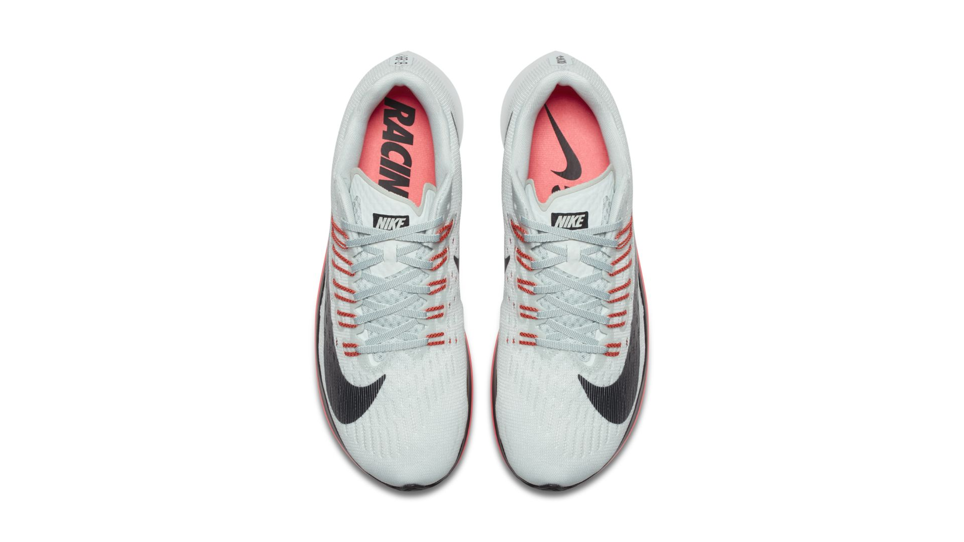 Nike Zoom Fly Barely Grey/Hot Punch/White/Oil Grey (880848-009)