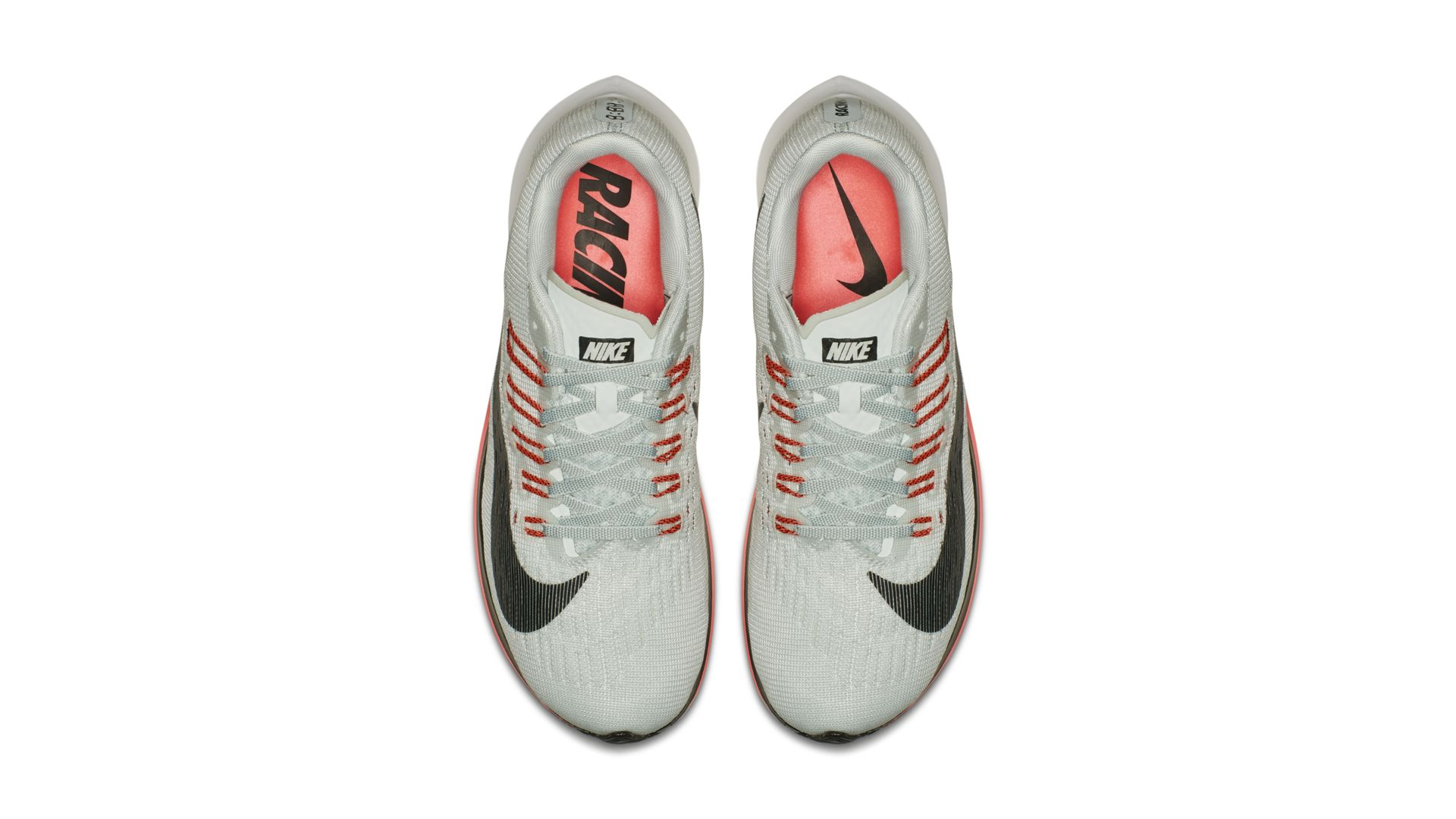Nike Zoom Fly Barely Grey/Oil Grey-Hot Punch-White (897821-009)