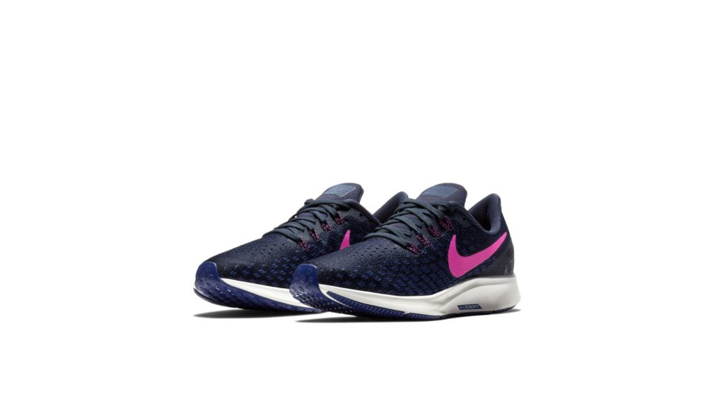 Nike Air Zoom Pegasus 35 Obsidian/Deep Royal Blue/Summit White/Pink Blast (942855-401)