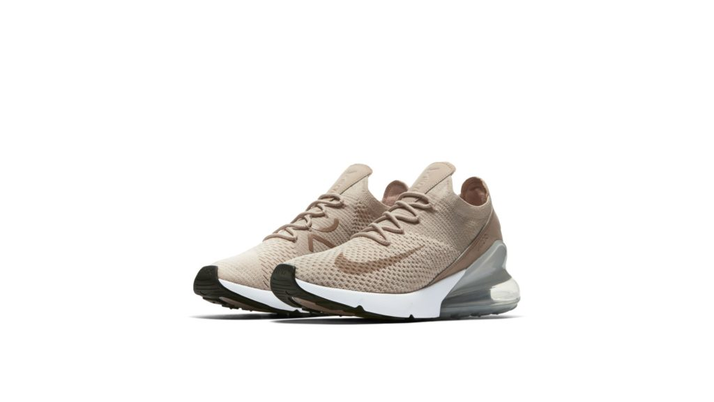 Nike W Air Max 270 Flyknit Guava Ice/Desert Dust/White/Particle Beige (AH6803-801)