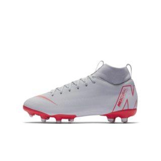 Nike Jr. Superfly VI Academy MG Voetbalschoen voor kleuters/kids (meerdere ondergronden) - Grijs Grijs