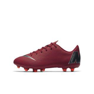 Nike Jr. Mercurial Vapor XII Academy Voetbalschoen voor kleuters/kids (meerdere ondergronden) - Rood Rood
