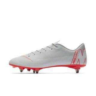 Nike Mercurial Vapor XII Academy SG-PRO Voetbalschoen (zachte ondergrond) - Grijs Grijs